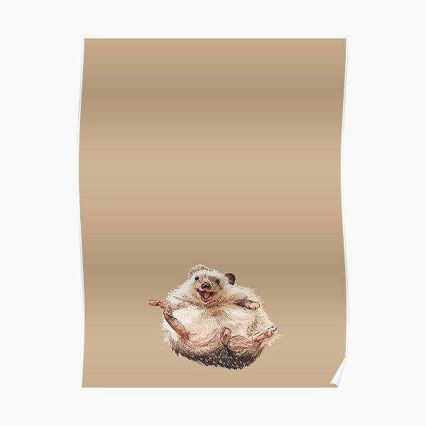 Hedgehog Madness Poster