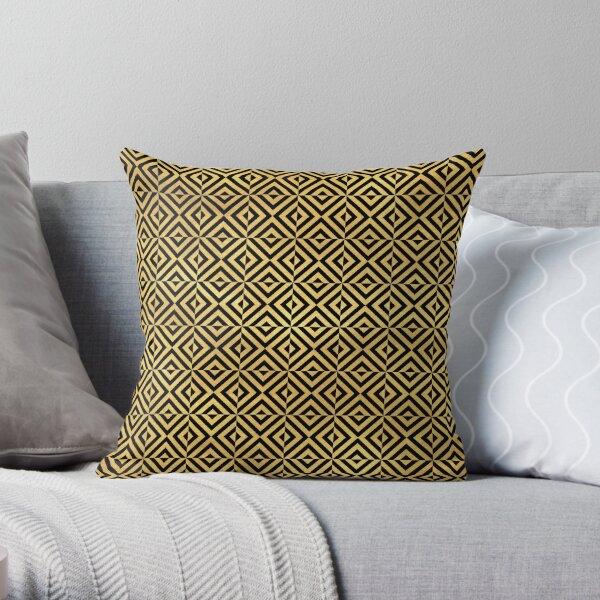 Art Deco Patterns Throw Pillow