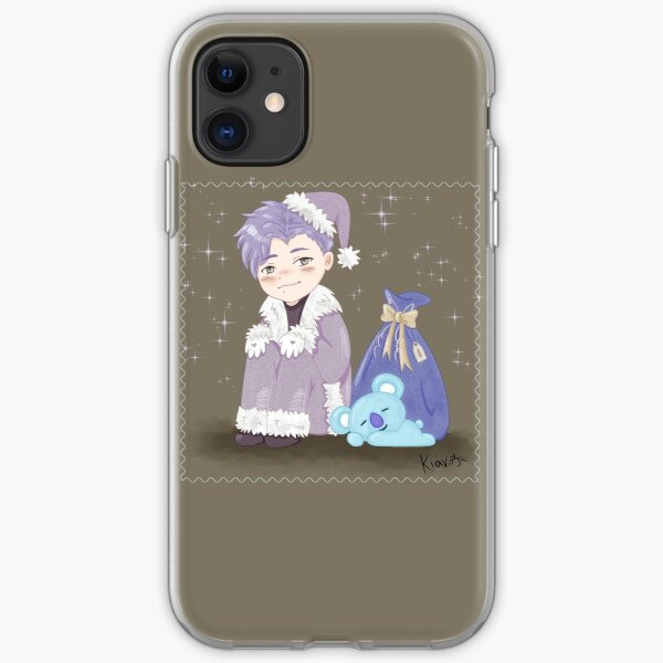BTS Christmas (RM) iPhone Soft Case