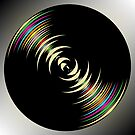 Dark circles background by Laschon Robert Paul
