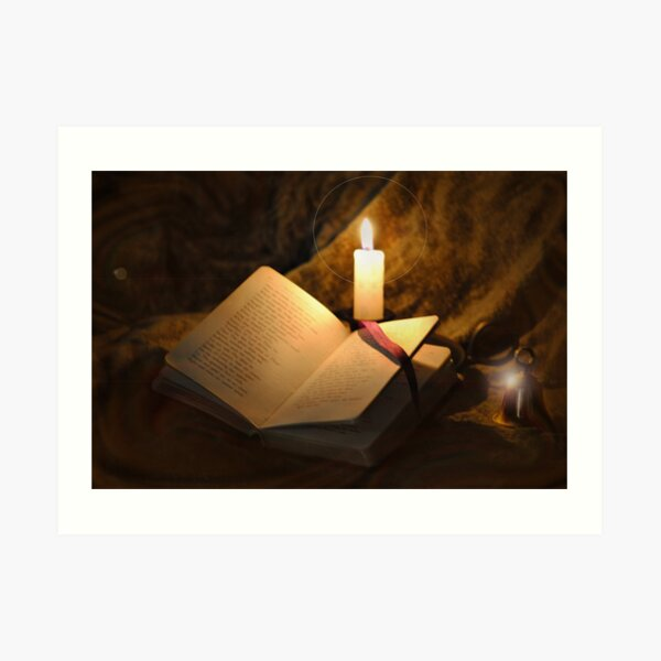 Bell, Book, and Candle Art Print