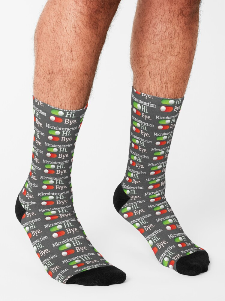 Alternate view of Microinteractions. Socks