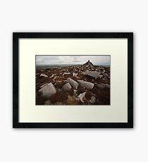 Cairn, Langsett Moors Framed Print