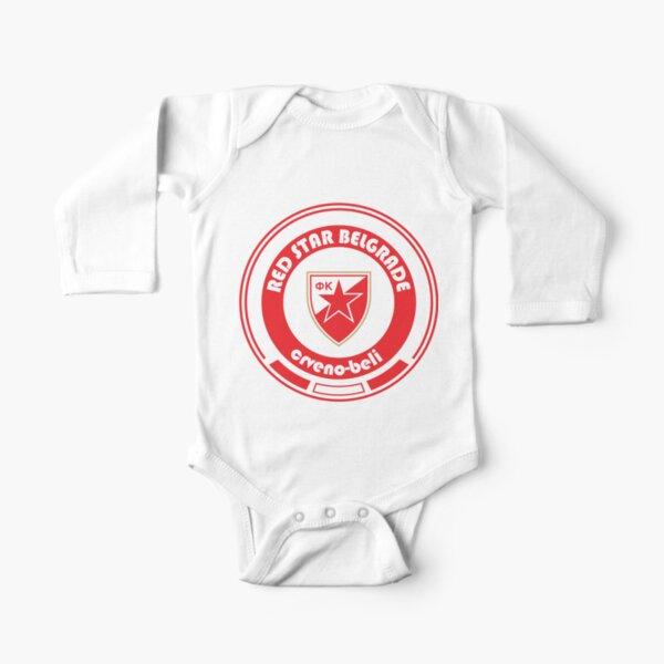 Super Liga - Team Red Star Belgrade Long Sleeve Baby One-Piece