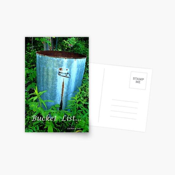 Bucket List... Postcard