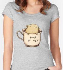 Pup of Tea Women's Fitted Scoop T-Shirt