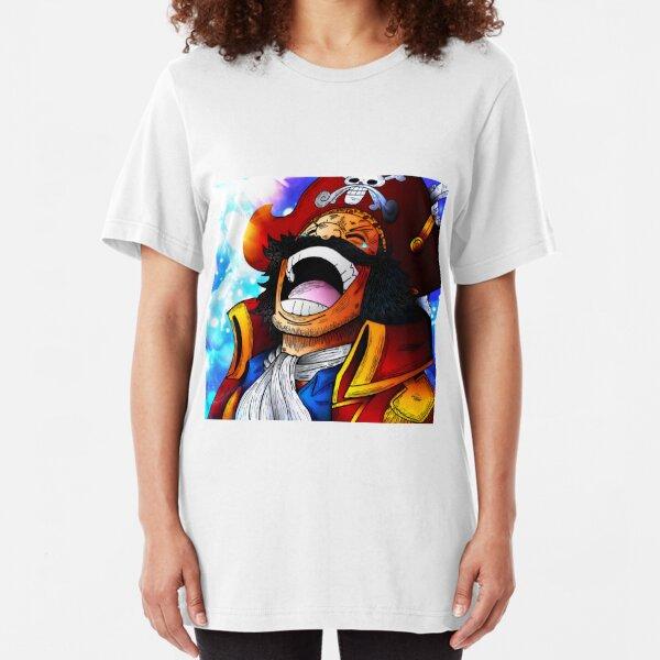 D Japan Anime Monkey LUFFY Mignon Capitaine T-shirt graphique