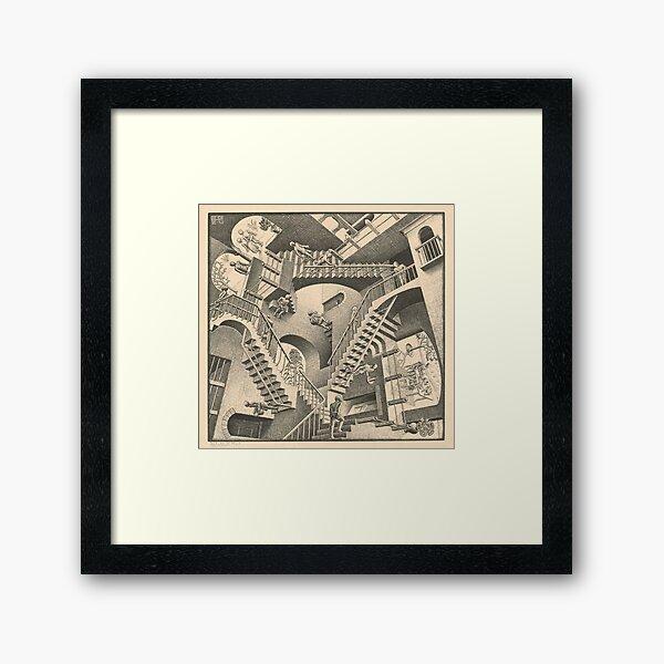 Escher - Relativity Framed Art Print