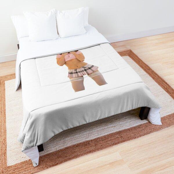 Riley Reid petite écolière Couvre-lit