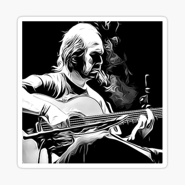 Paco de Lucía - Flamenco legend Sticker