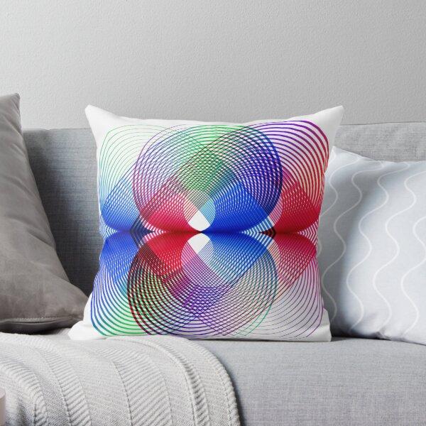Geometrico Arte cinetico abstracto Cojín