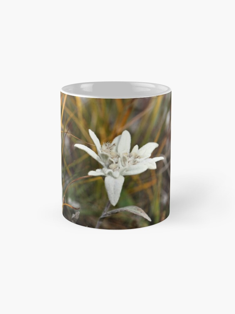 Alternate view of Alpine Edelweiss Mug