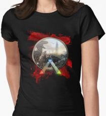 ark survival evolved  Womens Fitted T-Shirt