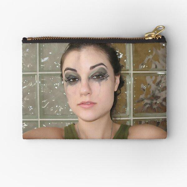 Sasha Grey makeup smear Zipper Pouch