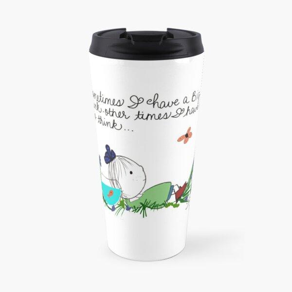 Big Thinker Little Sunshine  Iris Diane by Jami Amerine Travel Mug