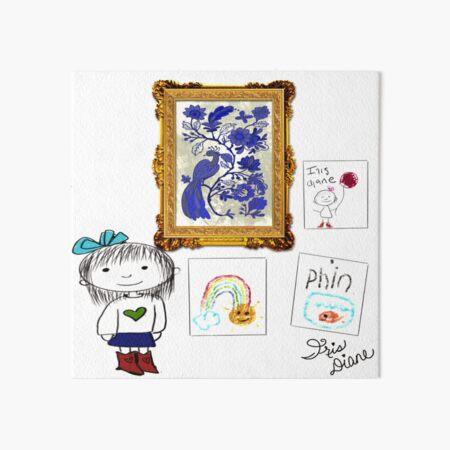 Gallery Iris Diane by Jami Amerine Art Board Print