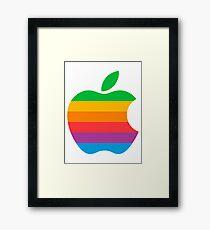 Retro Apple  Framed Print
