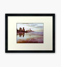 The Gold Coast Australia Framed Print