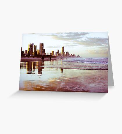 The Gold Coast Australia Greeting Card