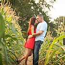 kiss me in the corn by Kendal Dockery