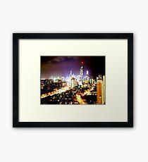 Gold Coast at Night Framed Print