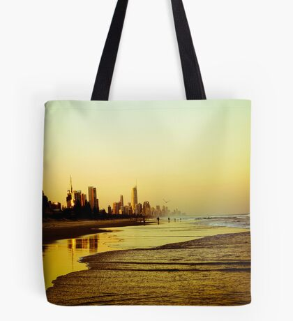 The Golden Coast Tote Bag