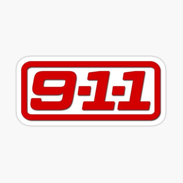 9-1-1 Sticker
