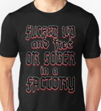 STRENGTH THROUGH JOY Unisex T-Shirt