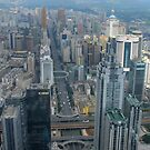 Downtown Shenzhen from above by Chris Millar