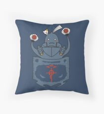 I'm his younger brother! Throw Pillow