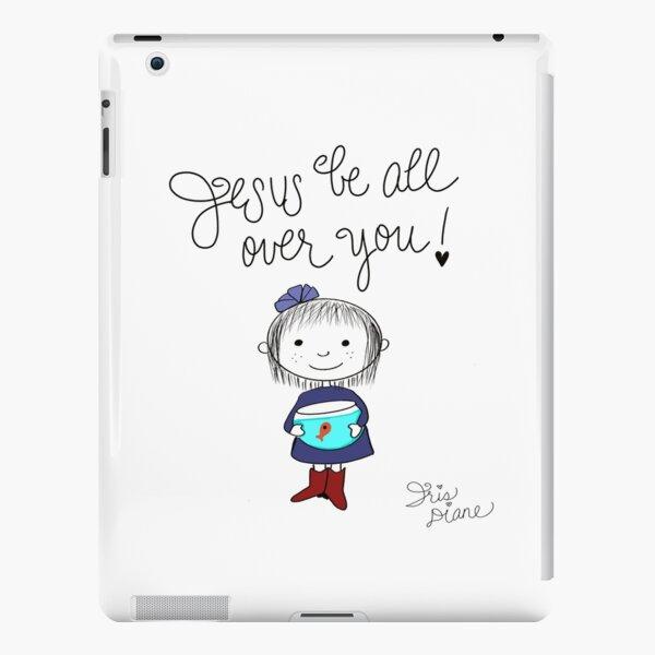 Jesus Be All Over You Iris Diane by Jami Amerine iPad Snap Case