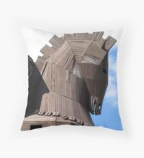 Troy Horse Throw Pillow