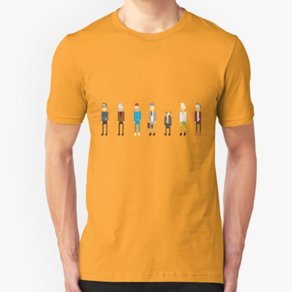 All Bill Murray's Wes Anderson Roles Slim Fit T-Shirt