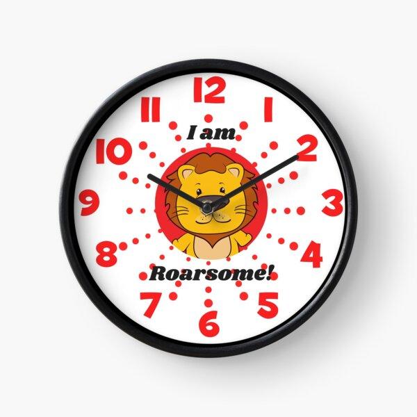 I am Roarsome clock Clock