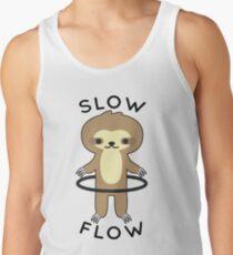 Slow Flow - Hoop Sloth Tank Top