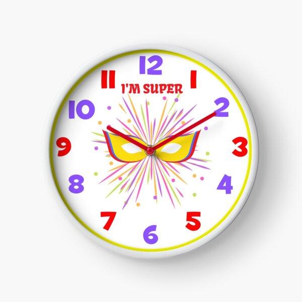 I'm Super clock Clock