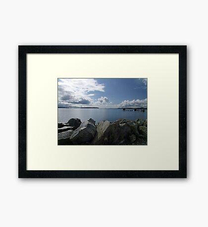 Quiet Day on Saanichton Bay Framed Print
