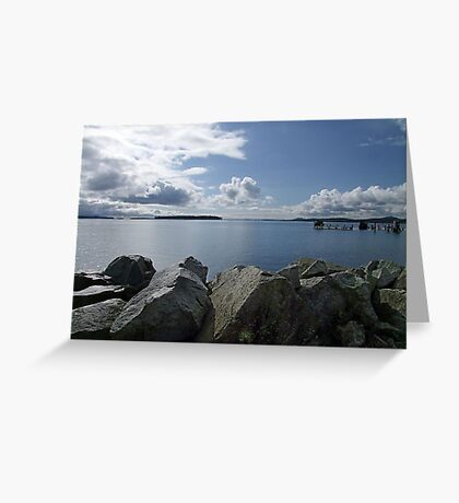 Quiet Day on Saanichton Bay Greeting Card