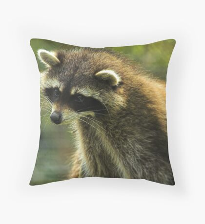 He's late. Throw Pillow
