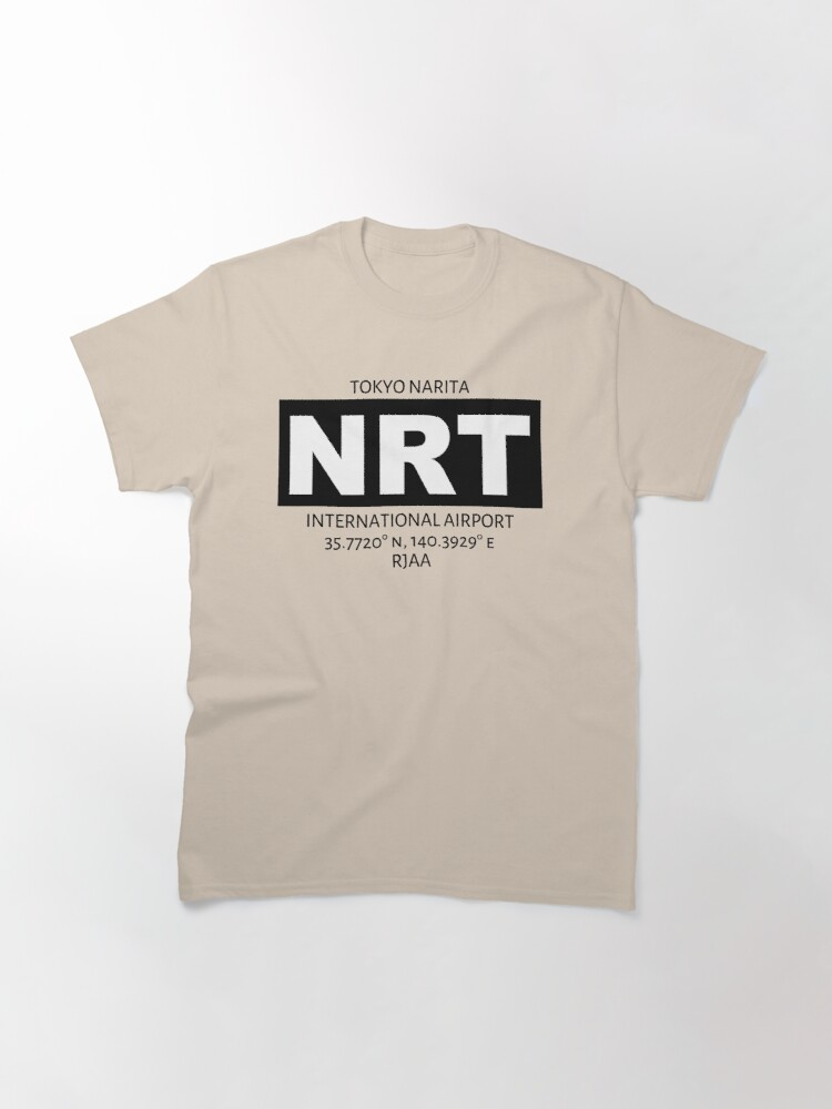 Alternate view of Tokyo Narita International Airport NRT Classic T-Shirt