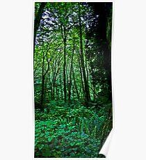 terrarium green Poster
