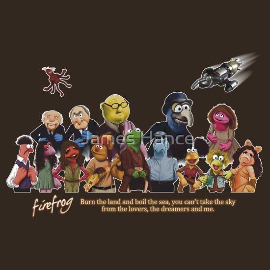 TShirtGifter presents: Firefrog (Firefly / The Muppets) - Group Shot #1