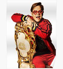 music rock popular elton hercules rocket john man  Poster