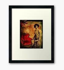 Aged Velvet Framed Print