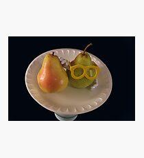 Pear Parody .07 Photographic Print