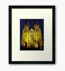 St Mary Night Framed Print