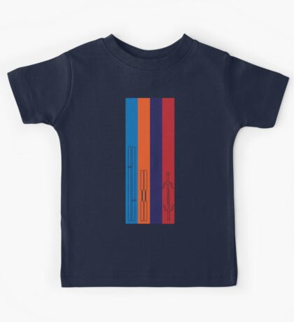 Leonardo, Michelangelo, Donatello, Raphael - Stripes Kids Clothes