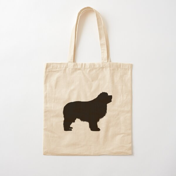 Newfie Love is Big Love Cotton Tote Bag