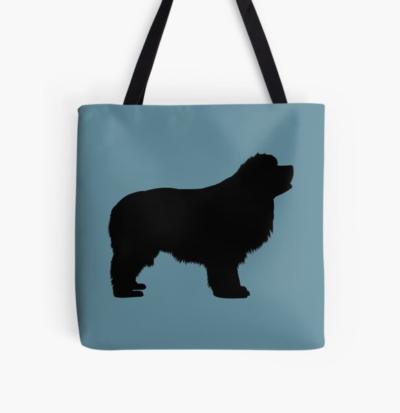Newfie Love is Big Love All Over Print Tote Bag