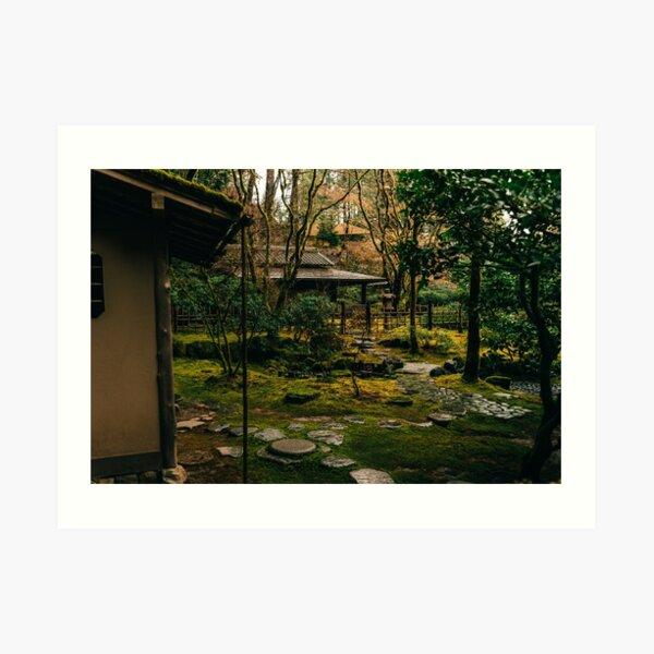 Japanese Tea Garden Art Print